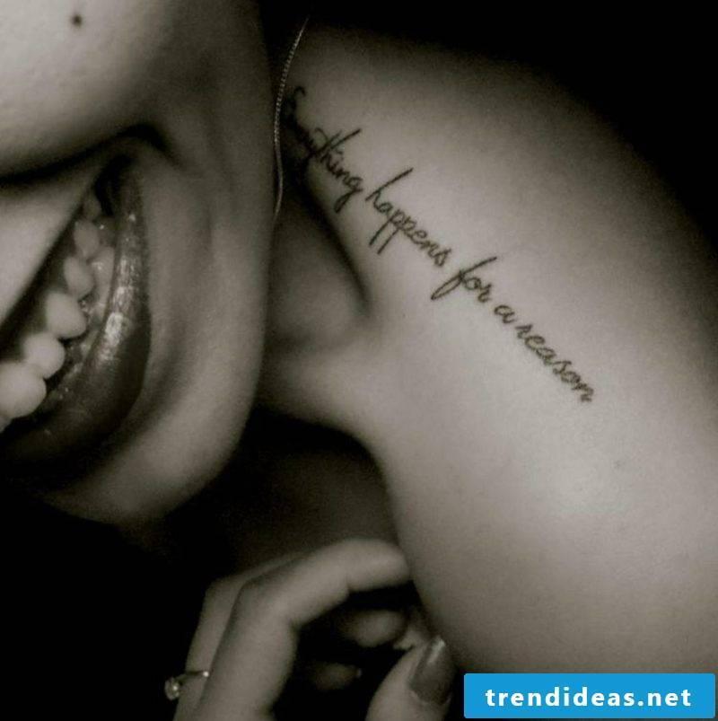 Tattoo font personalized Arm Fau