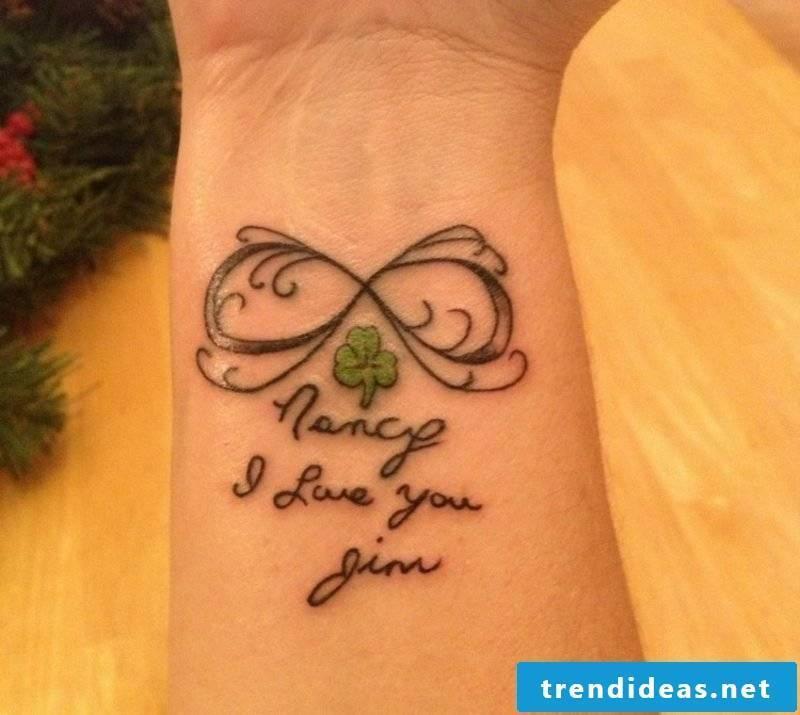 Tattoo fonts personalized wrist interesting look