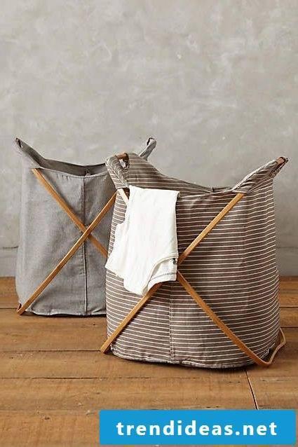 Ikea hack for laundry basket