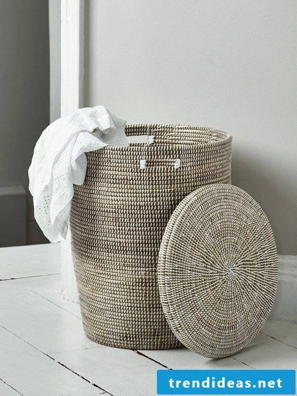 Need a new laundry basket? - Here you will find great patterns!