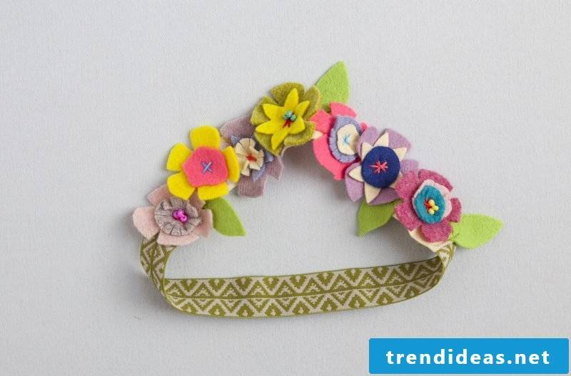 Baby hairband design
