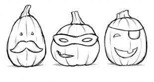 For the little kids: 21 free coloring pages for Halloween