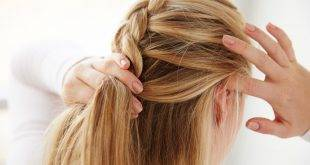 French braid is easy to braid - DIY guide
