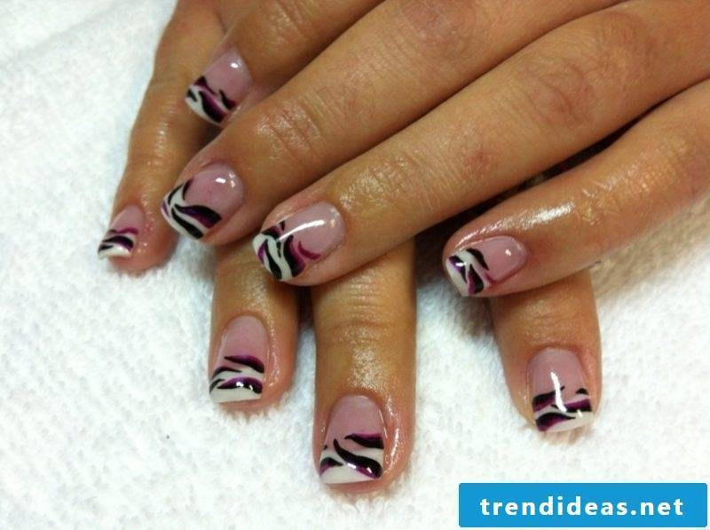 Nail art 2015 French nails