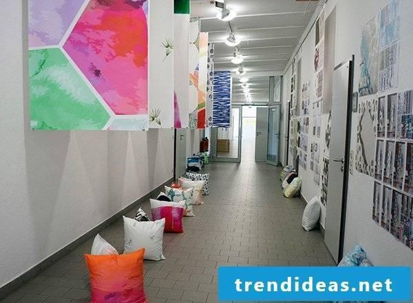 Textile design facility