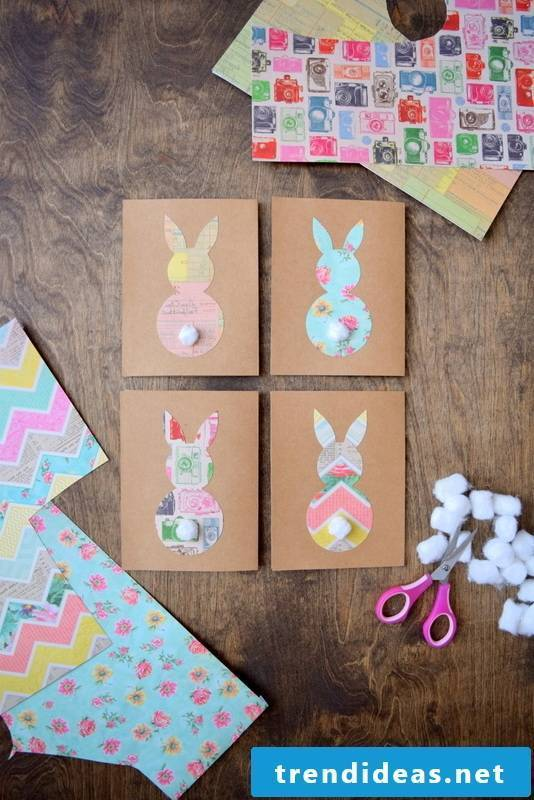 Craft DIY unique Easter cards that are perfect for those funny Easter greetings