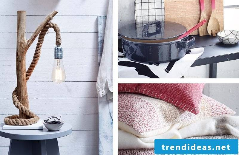 The small home accessories in decoration with magic