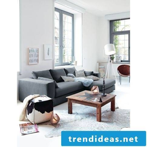 Nice home accessories in the living room