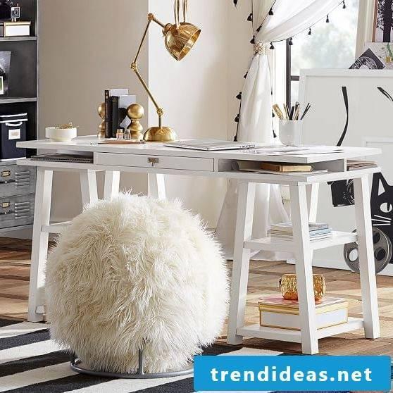 furnishing ideas fur stool living room furnishings residential ideas beautiful living ideas