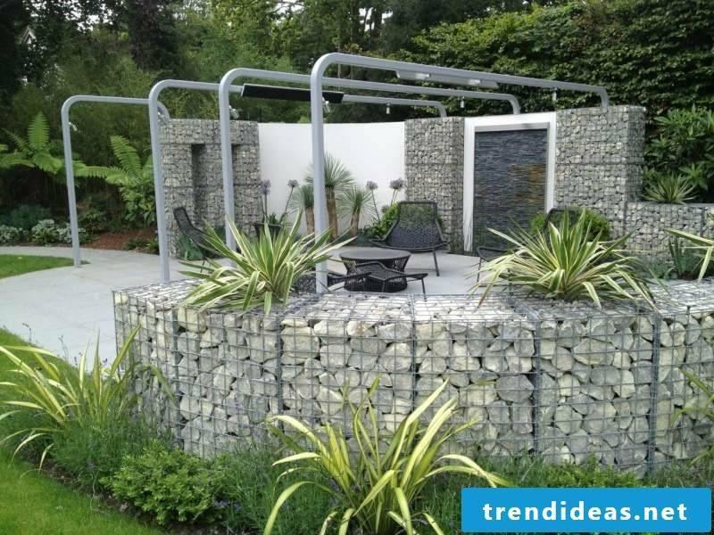 Gabion wall design ideas