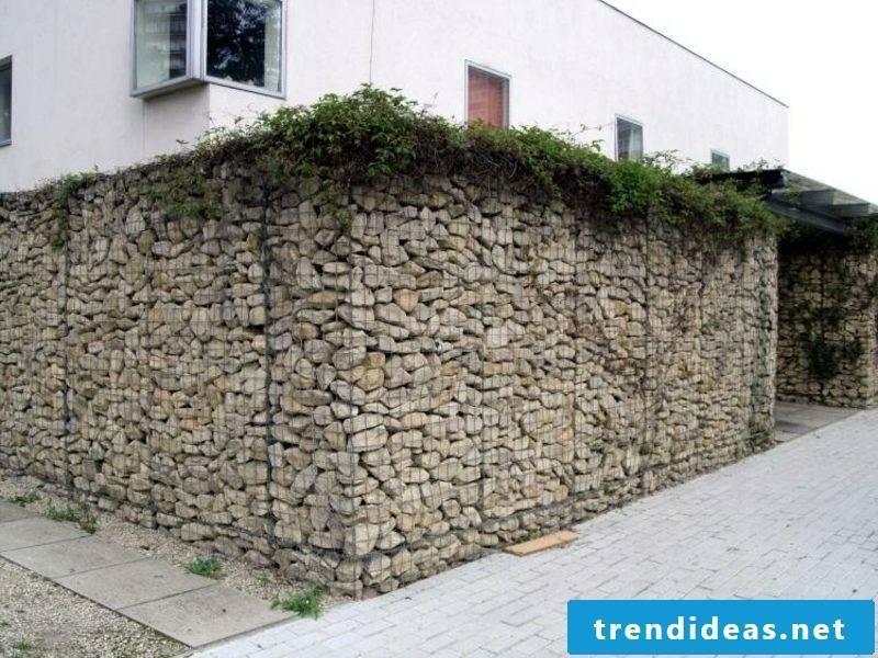 high Gabion stone wall original design ideas