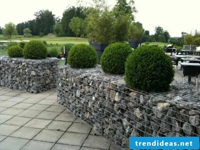 Creative gardening gabions