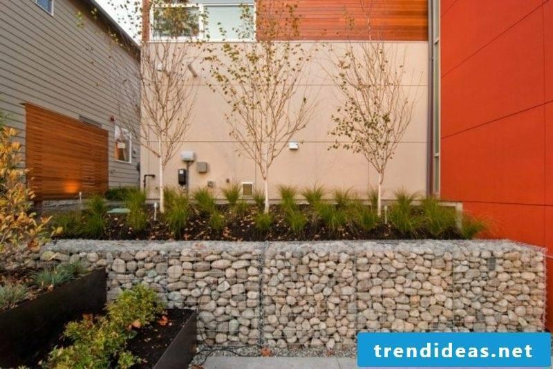 creative design of the garden