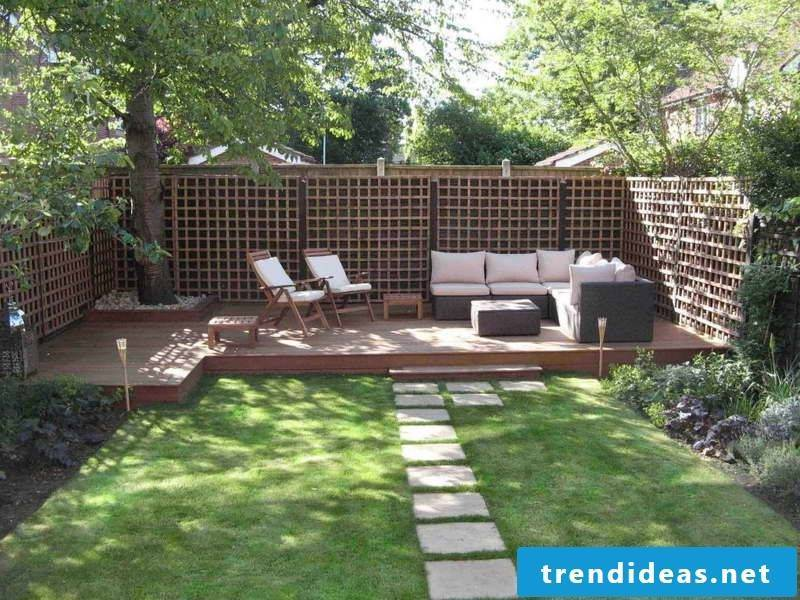 Garden furniture for a stylish garden design