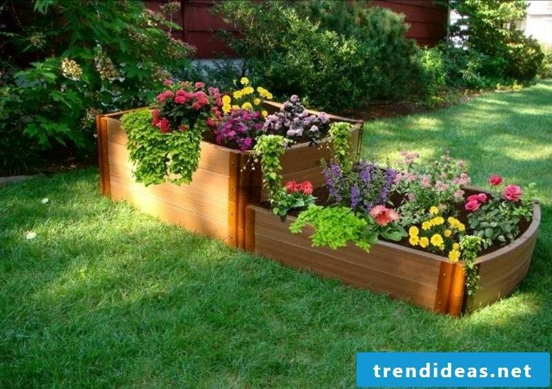 Garden ideas for little money cabinet upcycling