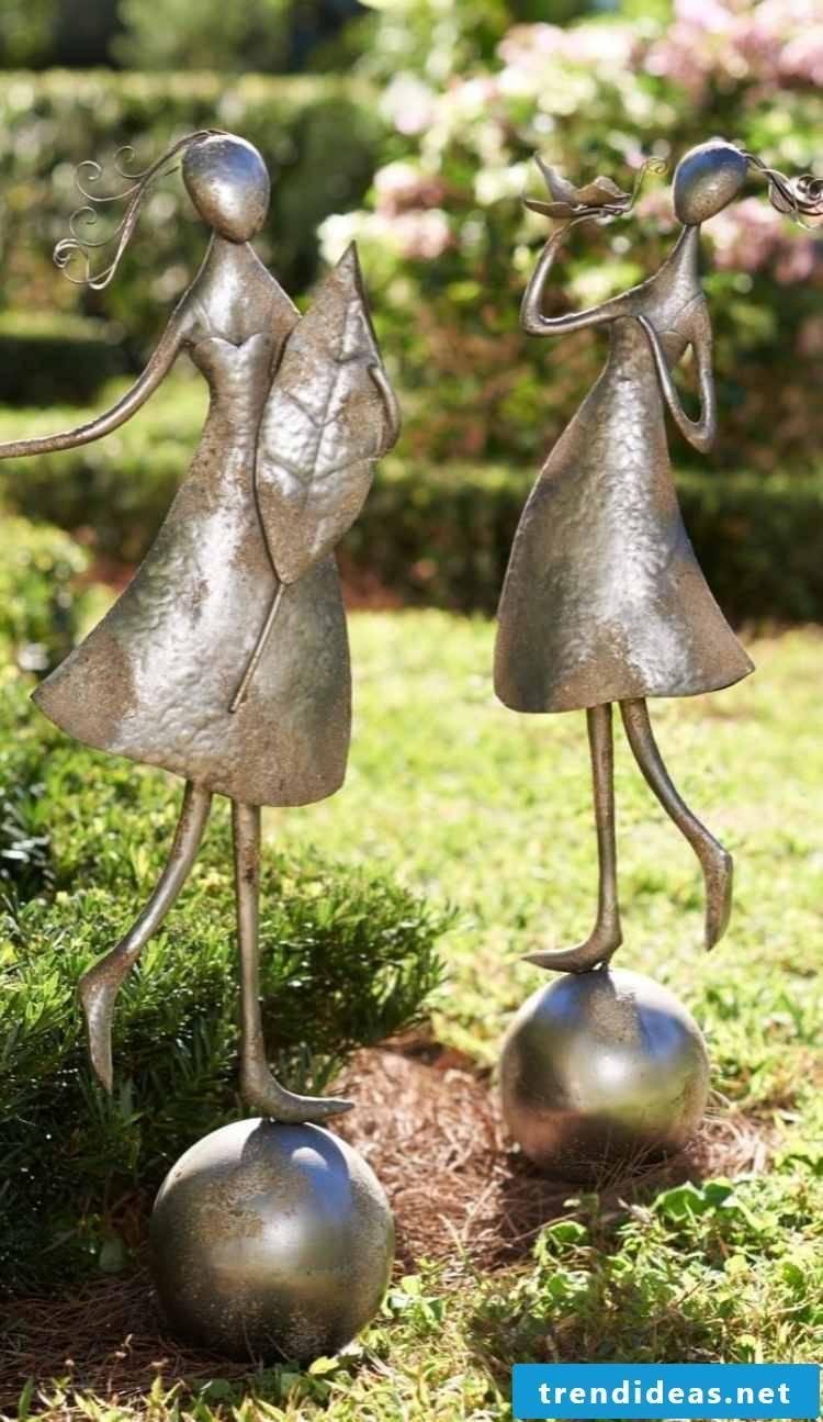 garden sculptures bronze