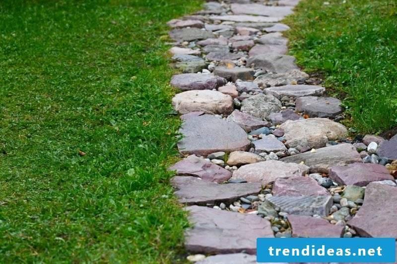 Garden design Ideas Garden paths create natural stone