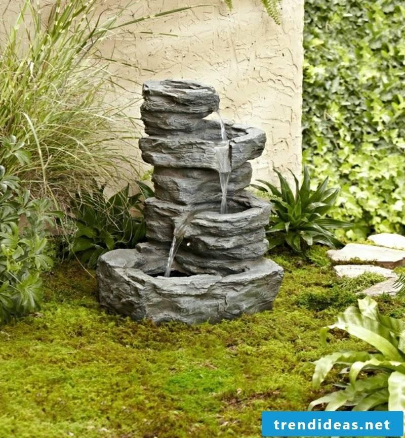 Gardening ideas fountains