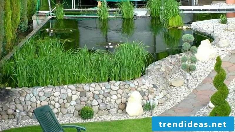 Garden design ideas decorative pond