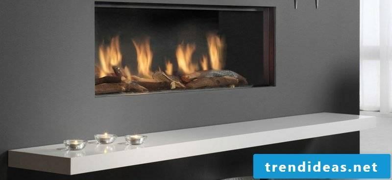 wood burning fireplace gas fireplaces