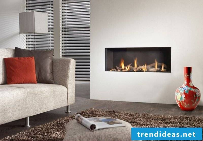 The urban living connoisseur who still does not want to give up the beautiful and romantic atmosphere of a fireplace