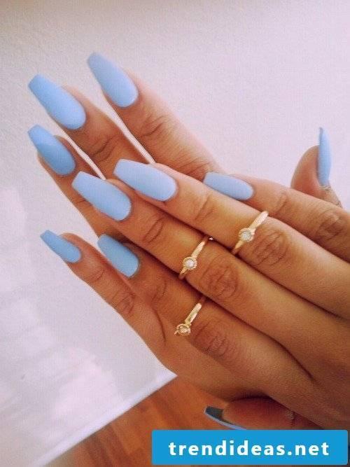 gel nails gallery purple