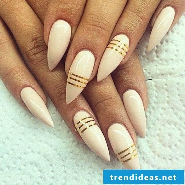 gel nails gallery long