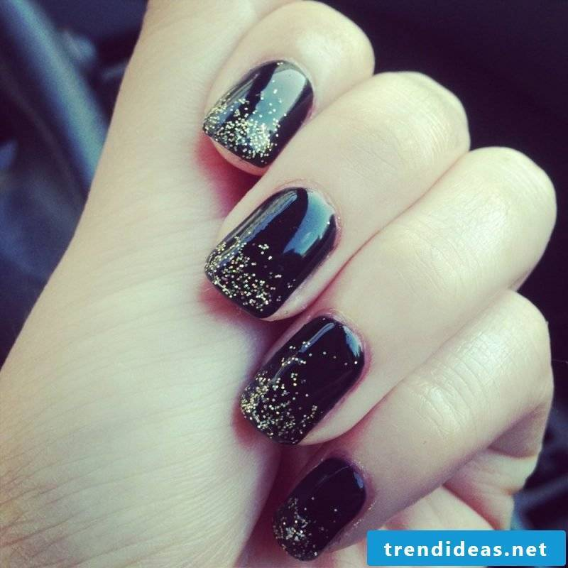 nails gallery black