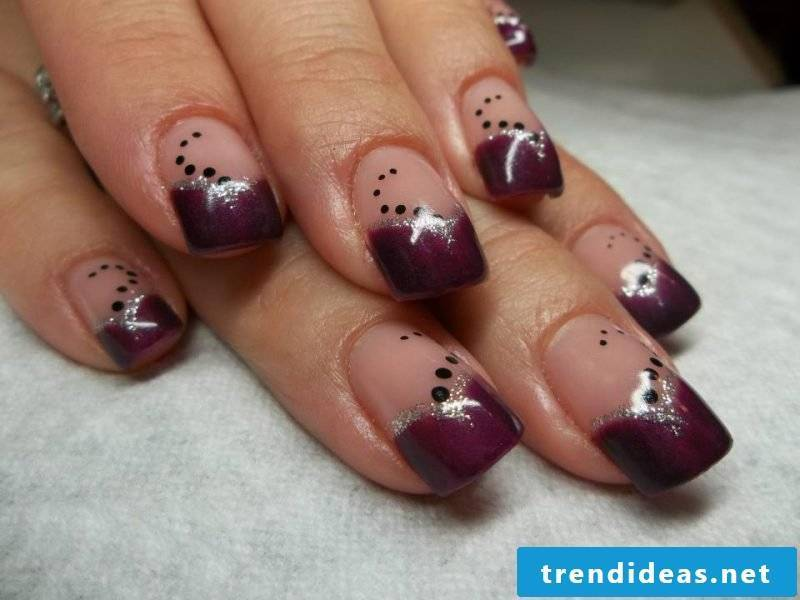 nails gallery ruby red
