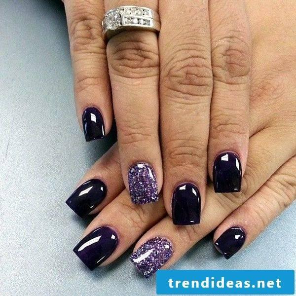 gel nails gallery violet