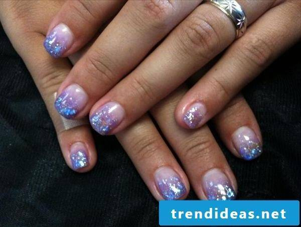 nails gallery blue