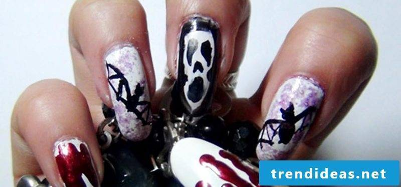 Gel nails motives that you can make yourself