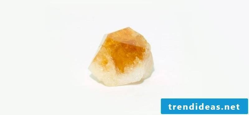 citrine raw stone