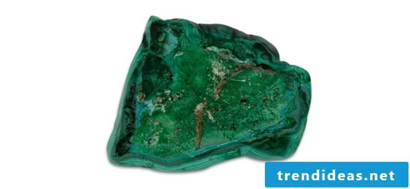 malachite raw stone
