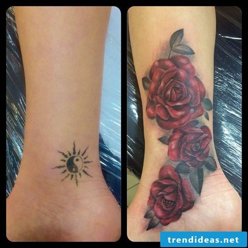 Cover up tattoo impressive woman