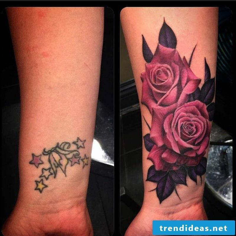 Cover up tattoo woman gorgeous look