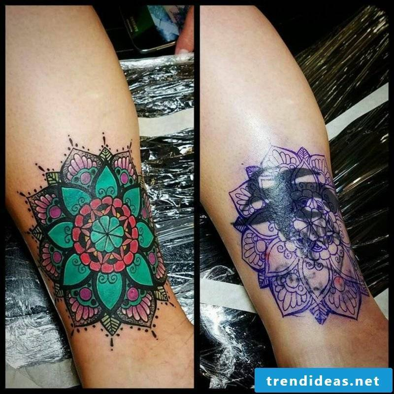 Cover up tattoo leg gorgeous look