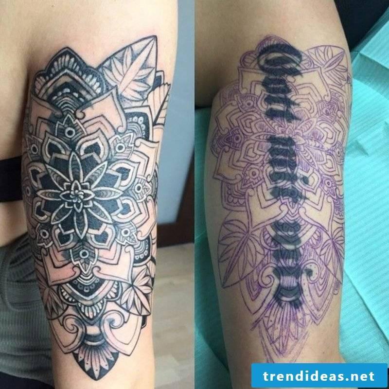 Cover up tattoo man modern ideas