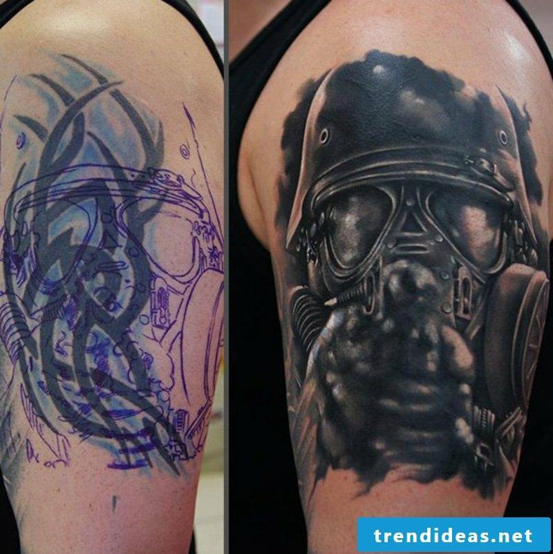 Cover up tattoo man ideas and inspirations