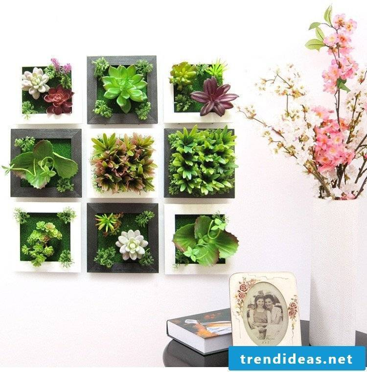 Some alternative creative ideas - a unique gift with artificial flowers