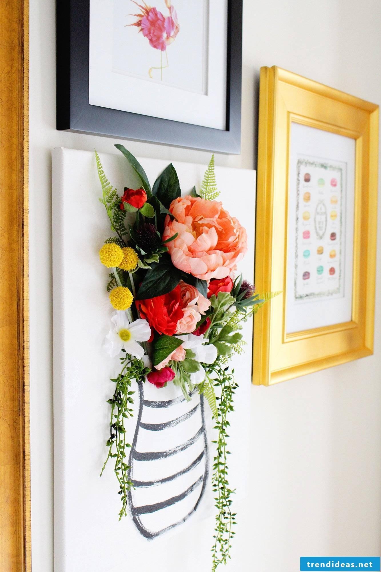 Creative ideas for 3D flowers