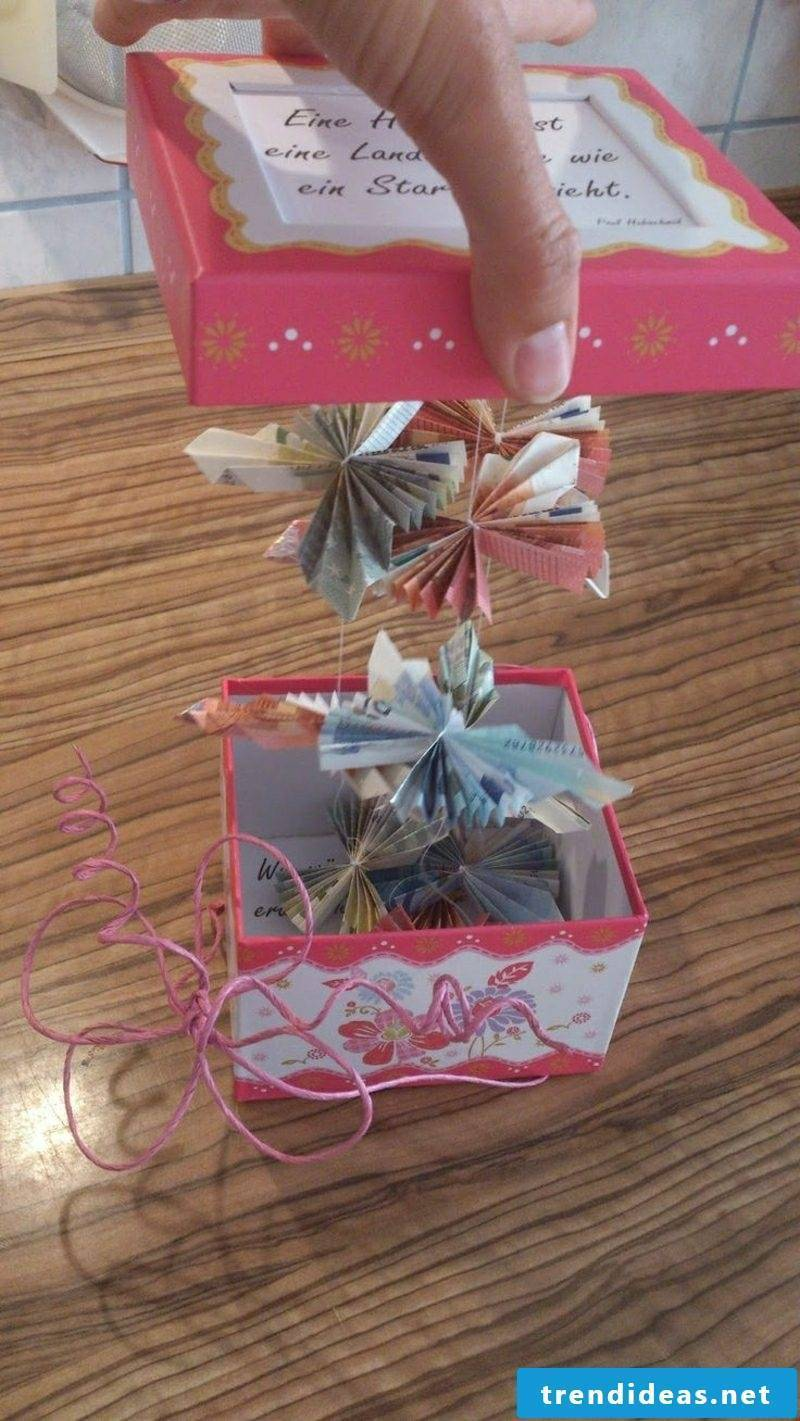 Money gifts Christmas