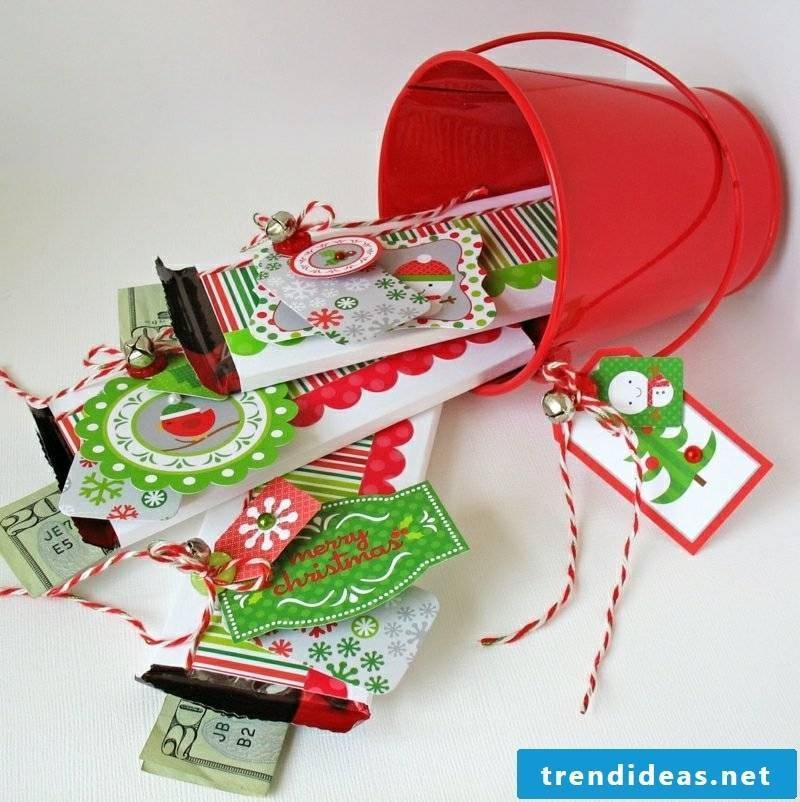 cash gifts cash candy christmas
