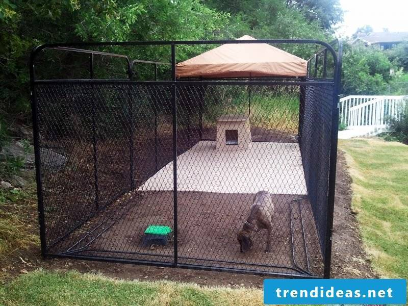 Generate generous dog kennel yourself!
