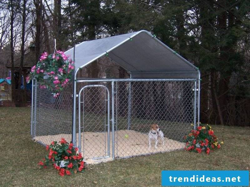 Build dog kennels yourself: Ideas!