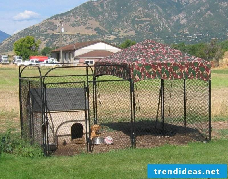 Dog kennels to build yourself is hard task!