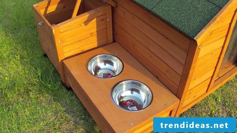 Build a dog kennel yourself!