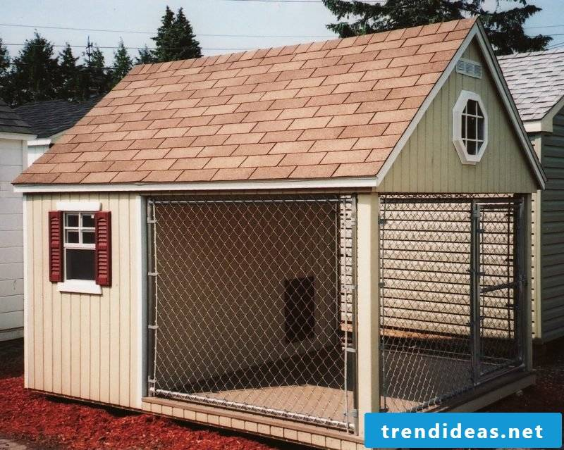 Build a nice dog kennel yourself!