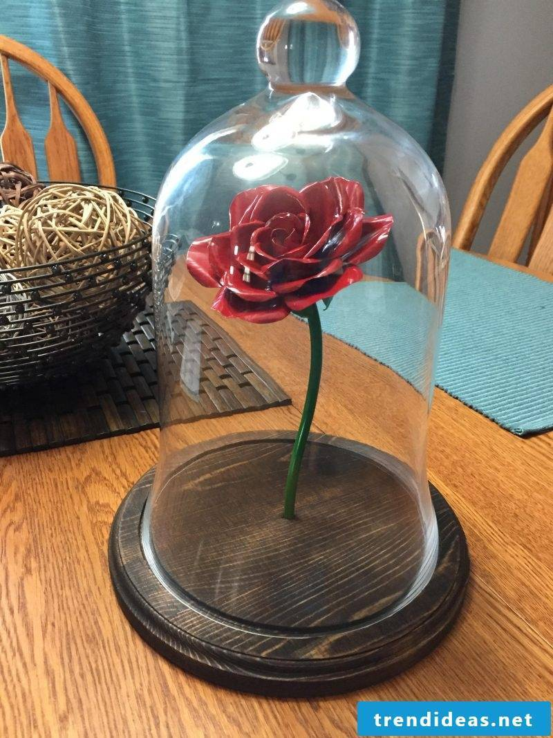 Crafting Enchanted Rose: Instructions
