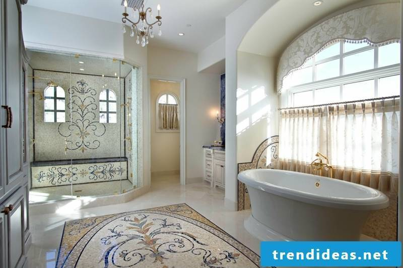 glass mosaic noble look